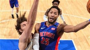 خلاصه بسکتبال دیترویت پیستونز - میلواکی باکس