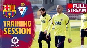 تمرین کامل امروز بارسلونا (02-12-98)