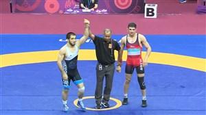 کسب مدال نقره توسط حسینی در وزن 70 کیلوگرم