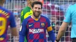 پوکر مسی؛ گل چهارم بارسلونا به ایبار