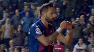 گلاول لوانته با شوت دیدنی مورالس به رئال مادرید
