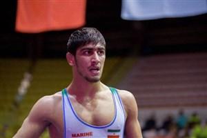 صعود مقتدرانه احمد بذری به فینال وزن 86 کیلوگرم