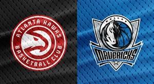 خلاصه بسکتبال دالاس ماوریکس - آتلانتا هاوکس