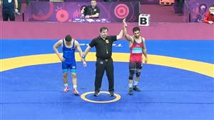 کسب مدال برنز مصطفی حسین خانی (قهرمانی آسیا)