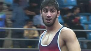 کسب مدال نقره احمد بذری (قهرمانی آسیا)