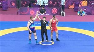 کسب مدال برنز پرویز هادی (قهرمانی آسیا)