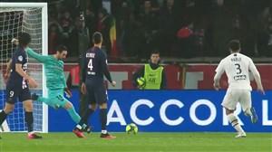اشتباه عجیب ریکو در دفع توپ گل دوم بوردو به پاریسنژرمن
