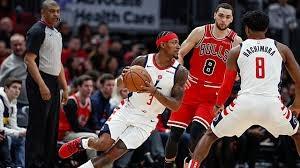 خلاصه بسکتبال شیکاگو بولز - واشینگتن ویزاردز