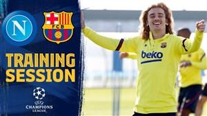 تمرین امروز تیم بارسلونا (05-12-98)