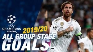 گلهای رئال مادرید در مرحله گروهی لیگ قهرمانان اروپا 20-2019