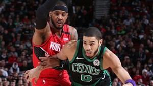 خلاصه بسکتبال بوستون سلتیکس - پورتلند بلیزز