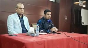 کنفرانس خبری کریمیان مربی شاهین پیش از بازی فولاد