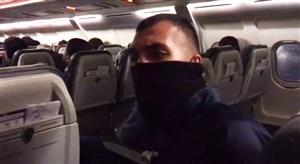 تصاویر عجیب از بازگشت هواپیمای استقلال به مهرآباد به دلیل نقص فنی