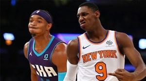 خلاصه بسکتبال شارلوت هورنتس - نیویورک نیکس