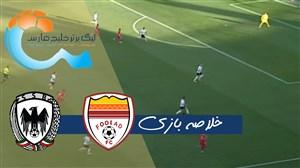 خلاصه بازی فولاد خوزستان 1 - شاهین شهرداری بوشهر 0