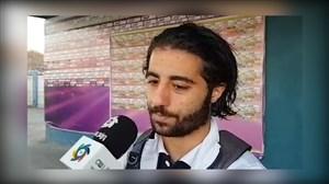 خرم الحسینی: اصلا به سقوط فکر نمیکنیم