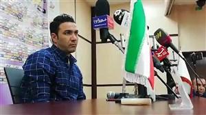 کنفرانس خبری جواد نکونام بعد از بازی با شاهین