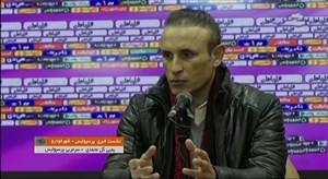 کنفرانس خبری یحیی گل محمدی پس از برد شهرخودرو