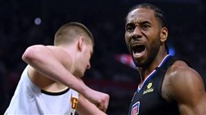 خلاصه بسکتبال دنور ناگتس - لس آجلس کلیپرز