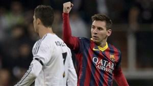 تقابل های لیونل مسی با ستاره های رئال مادرید در الکلاسیکو