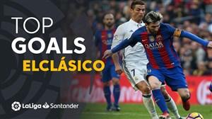 10 گل برتر ال کلاسیکو از 2009 تا 2019