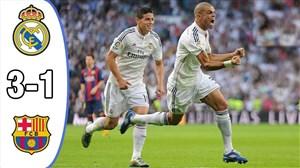 برد خاطره انگیز رئال مادرید مقابل بارسلونا