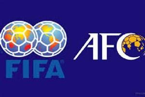 اختلاف FIFA و AFC برای از سرگیری مسابقات