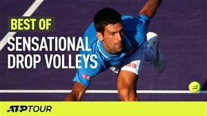 برترین ضربات والی در تنیس ATP
