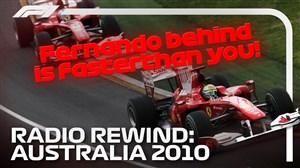 روی خط رانندهها؛ گرندپری خاطره انگیز استرالیا ۲۰۱۰
