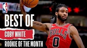 کوبی وایت: استعداد برتر ماه فوریه بسکتبال NBA