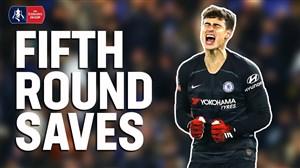 سیوهای برتر جام حذفی انگلیس در دور پنجم