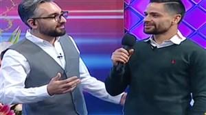 آواز خواندن کمال کامیابی نیا و مهران رجبی در پخش زنده