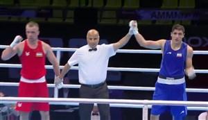 پیروزی موسوی برابر حریف ازبکستانی در بوکس انتخابی المپیک