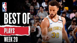حرکت های برتر بسکتبال NBA  در هفته 20