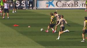 تمرین امروز تیم رئال مادرید (22-12-98)