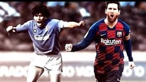 مسی یا مارادونا; مقایسه دو ابر ستاره دنیای فوتبال