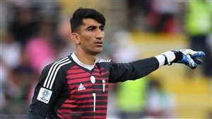 پیام تشکر علیرضا بیرانوند پس از پیروزی در نظرسنجی AFC