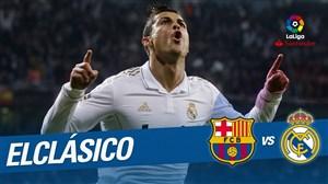 برد خاطره انگیز رئال مادرید برابر بارسلونا با گل رونالدو