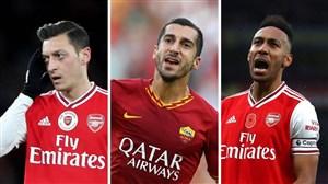 شش بازیکن در فهرست خروج تابستانی آرسنال