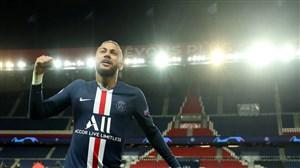 تمامی گلهای نیمار در لیگ قهرمانان اروپا باپیراهن پاریسیها