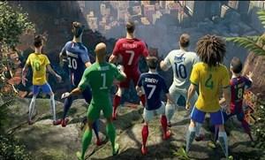 تقابل ستارگان فوتبال دنیا و رباتها به روایت انیمیشن