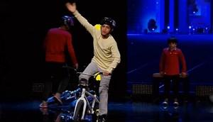 اجرای دوچرخه سواری BMX در برنامه عصر جدید