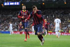 سالگرد دیدار خاطره انگیز رئال مادرید 3 - بارسلونا 4 (2014)