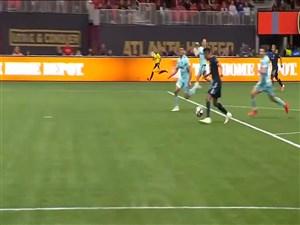5 حرکت برتر تیم دالاس مقابل آتلانتا در لیگ MLS