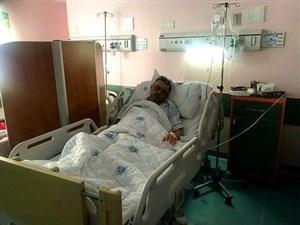 پزشک استقلال از بیمارستان مرخص شد