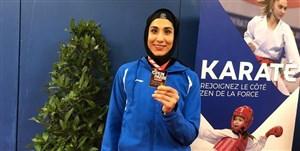 بازگشت کاپیتان تیم ملی کاراته بانوان از جراحی در آلمان