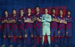 تمرینات بازیکنان بارسلونا در خانه