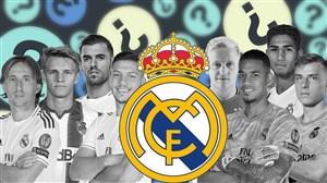 5 گل برتر رئال مادرید در لالیگا 2020-2019