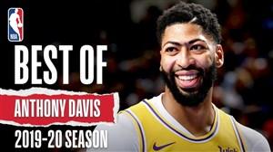 بهترین های آنتونی دیویس در فصل 20-2019