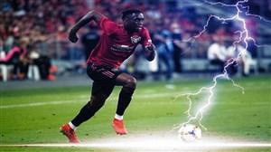 آرون ونبیساکا بهترین مدافع راست لیگ برتر جزیره(2020)